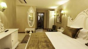 Egyptian cotton sheets, premium bedding, down duvet, memory foam beds