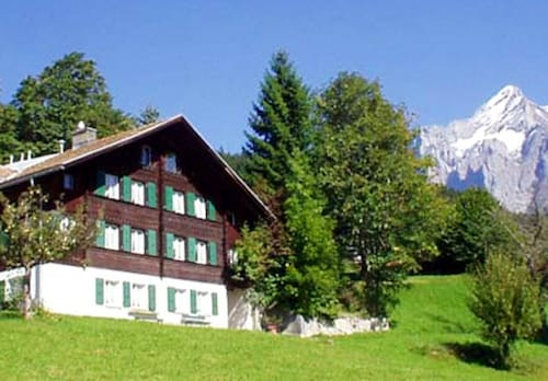 Apartment With one Bedroom in Grindelwald, With Wonderful Mountain View, Enclosed Garden and Wifi