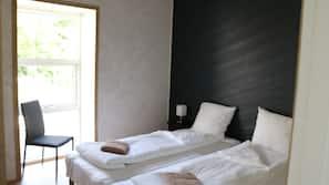 Med varierende møblement, lydisolering, gratis Wi-Fi, sengetøj
