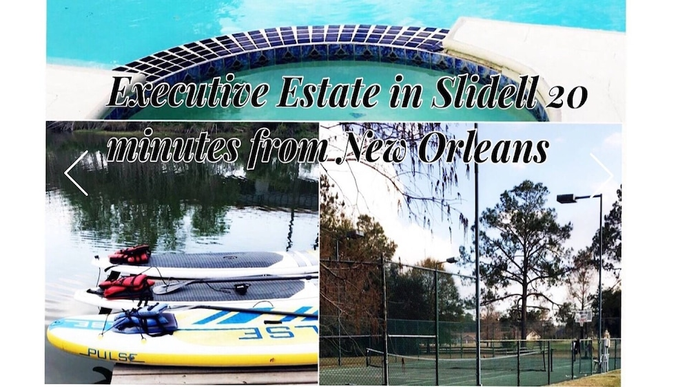 Exterior, Beautiful Executive Estate Only 20 Minutes From New Orleans