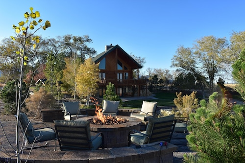Lodges at Pheasant Run is Tucked Away in the Beautiful Country, Sleeps Over 60!