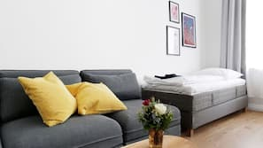 2 makuuhuonetta, ilmainen Wi-Fi, vuodevaatteet