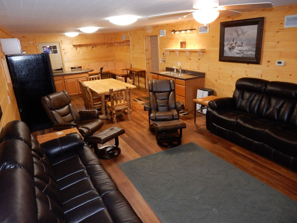 Living Room, Snowmobiling & Ski Season are Here! Book Your Winter Adventure Now!
