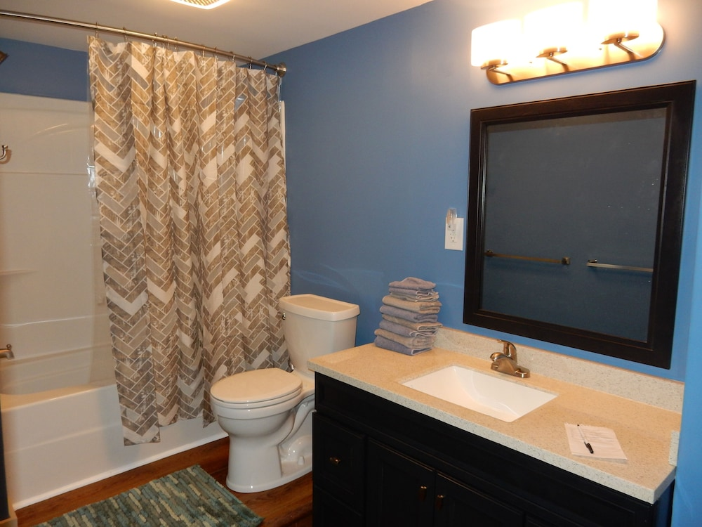 Bathroom, Snowmobiling & Ski Season are Here! Book Your Winter Adventure Now!