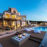 Lux Villa Top Sea View Gym & 6 Bedrooms Private Pool