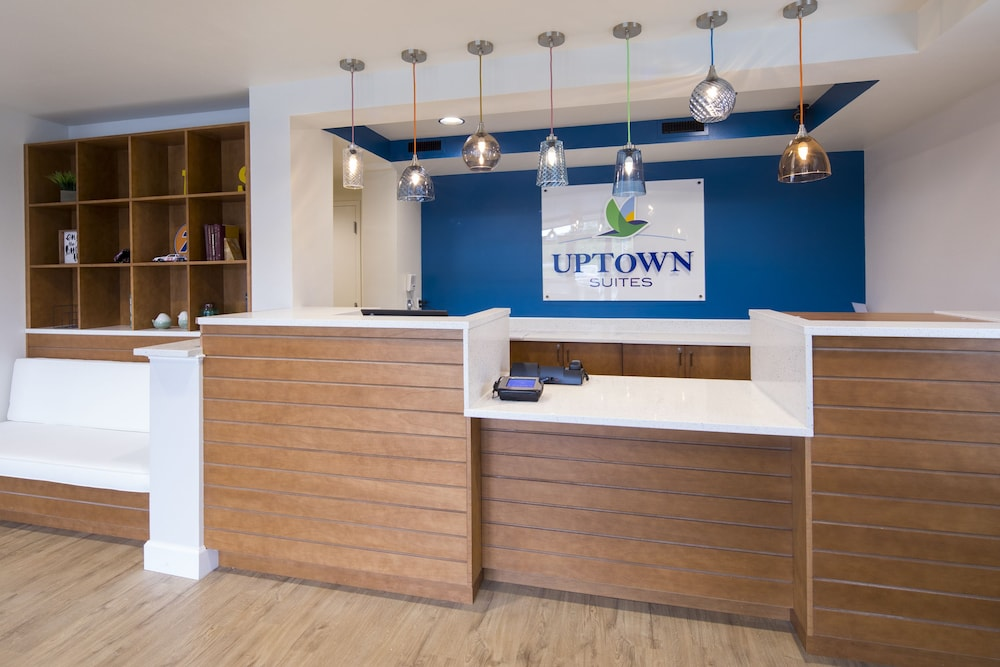 Lobby, Uptown Suites Extended Stay Austin TX – North