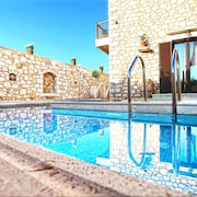 NEW Villa With Pool AND Jacuzzi Near THE Sea, Rural Location, Stunning Views