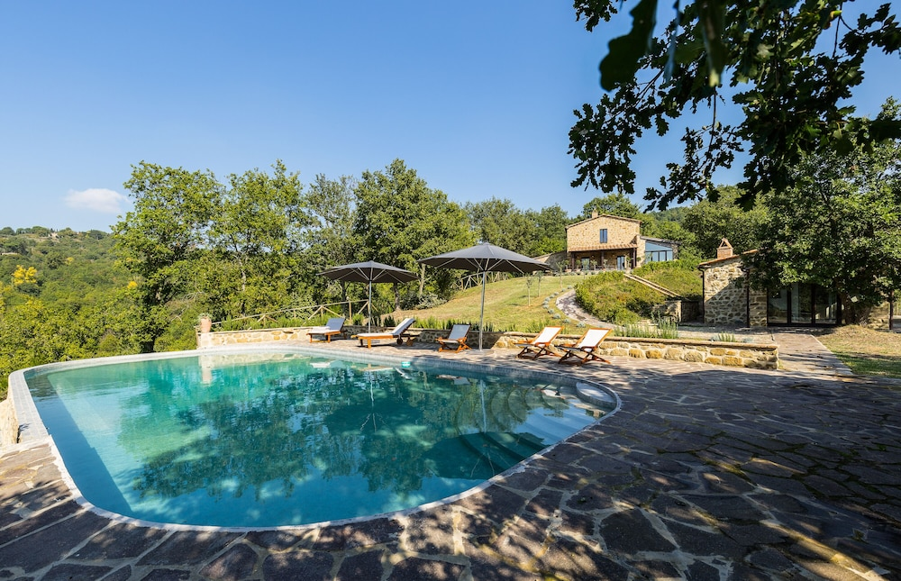 Wonderful Villa With Swimming Pool Surrounded by Greenery, Shelter ...