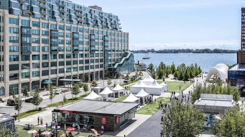 Harbourfront CN Tower View Lake Studio offered by Short Term Stays