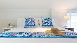 1 bedroom, hypo-allergenic bedding, individually decorated