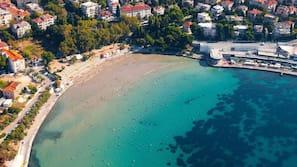 Beach nearby, beach cabanas, sun loungers, beach umbrellas