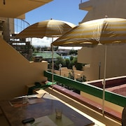 Apartment With one Bedroom in Antigua, Las Palmas, With Pool Access, Furnished Balcony and Wifi - 4 km From the Beach