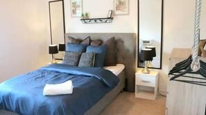 4 soveværelser, premium-sengetøj, strygejern/strygebræt, gratis Wi-Fi
