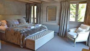5 chambres, rideaux occultants, lits bébés (en supplément)