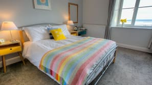 Premium bedding, iron/ironing board, bed sheets