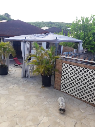 House With 2 Bedrooms in Sainte-anne, With Furnished Terrace and Wifi