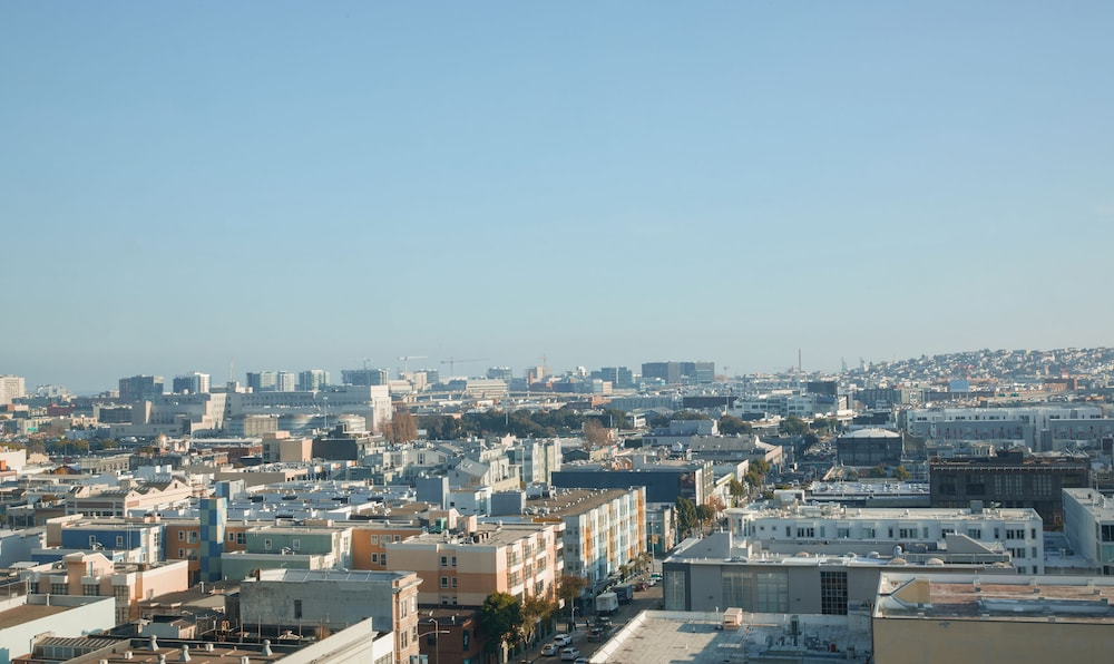 City View from Property, BEI Hotel San Francisco