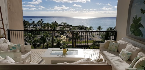 Cap Cana Beachfront Penthouse, One of a Kind Marina & Ocean Front Location