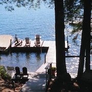 Squam Lake/5 Boats Included - Great for Families May-october