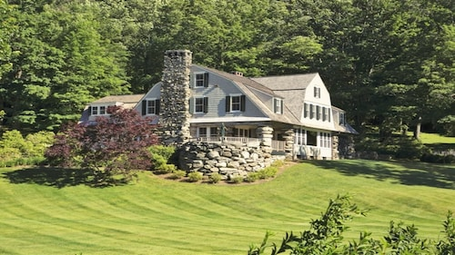 2 Large Houses on 25 Lakefront Acres in Litchfield County, CT. Suitable for 40