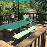 Riverfront ! A Room With a View !! Hot Tub ! Nat'l Forest. Restaurants Closeby