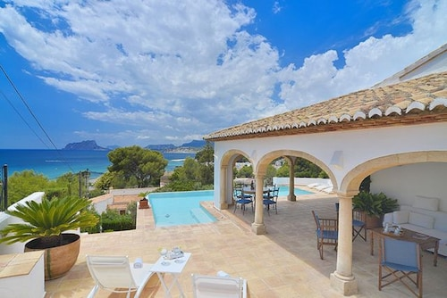 Most Luxurious Villa IN Moraira Located 70 MTS FAR From THE Beach ¨EL Portet¨
