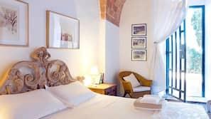 3 Schlafzimmer, hochwertige Bettwaren, individuell dekoriert