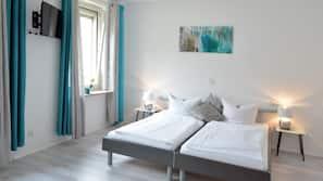 Allergikerbettwaren, schallisolierte Zimmer, kostenlose Babybetten