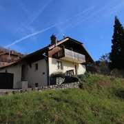 Les Carroz 12-person Chalet - Games Room And Magnificent Views