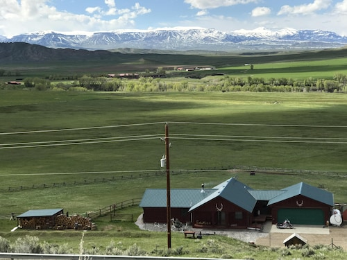 Stay at a Ranch in the Greybull River Valley With Breath Taking Mountain Views