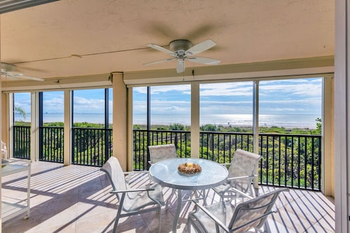 Direct Gulf Front Views in This Modern Meets Coastal 3 Bedroom Condo Spring Savings!!