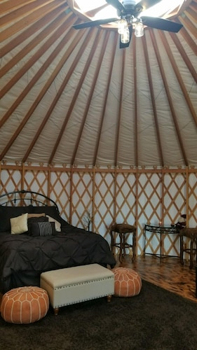 Luxury Yurts on Lake Grapevine