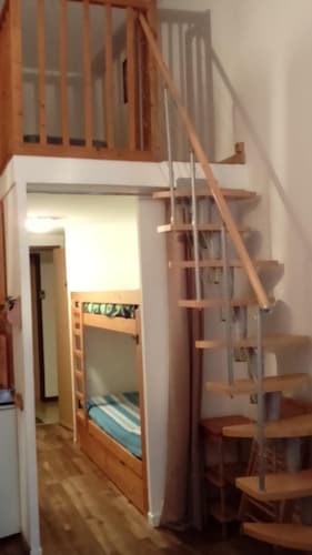 Studio Mezzanine for 6 People in LA Rosiere (Montvalezan ...