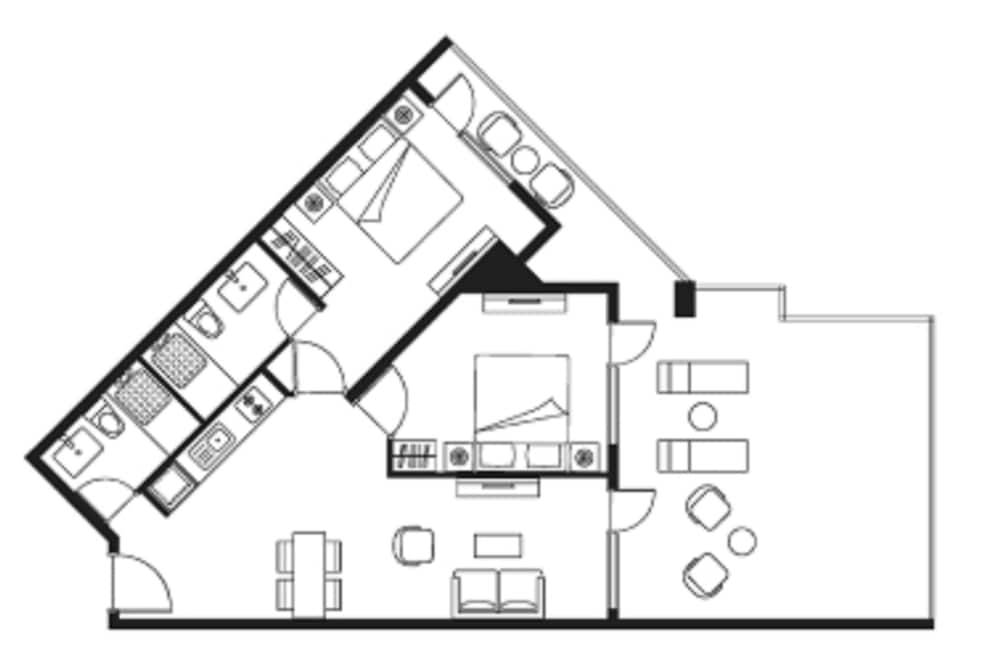 Floor plan, Citadines Pearl Hoi An