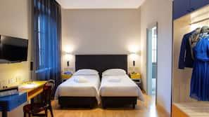 Minibar, in-room safe, desk, cots/infant beds