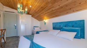 Luxe beddengoed, een minibar, een kluis op de kamer, geluiddichte muren