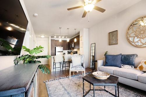 NEW Listing! Modern Condo w/ Shared Pool and hot tub - Right Downtown!