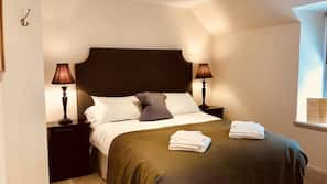 Egyptian cotton sheets, soundproofing, iron/ironing board, free WiFi