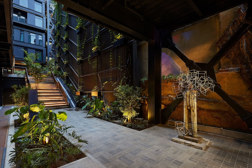 Courtyard, The Click Clack Hotel Medellin