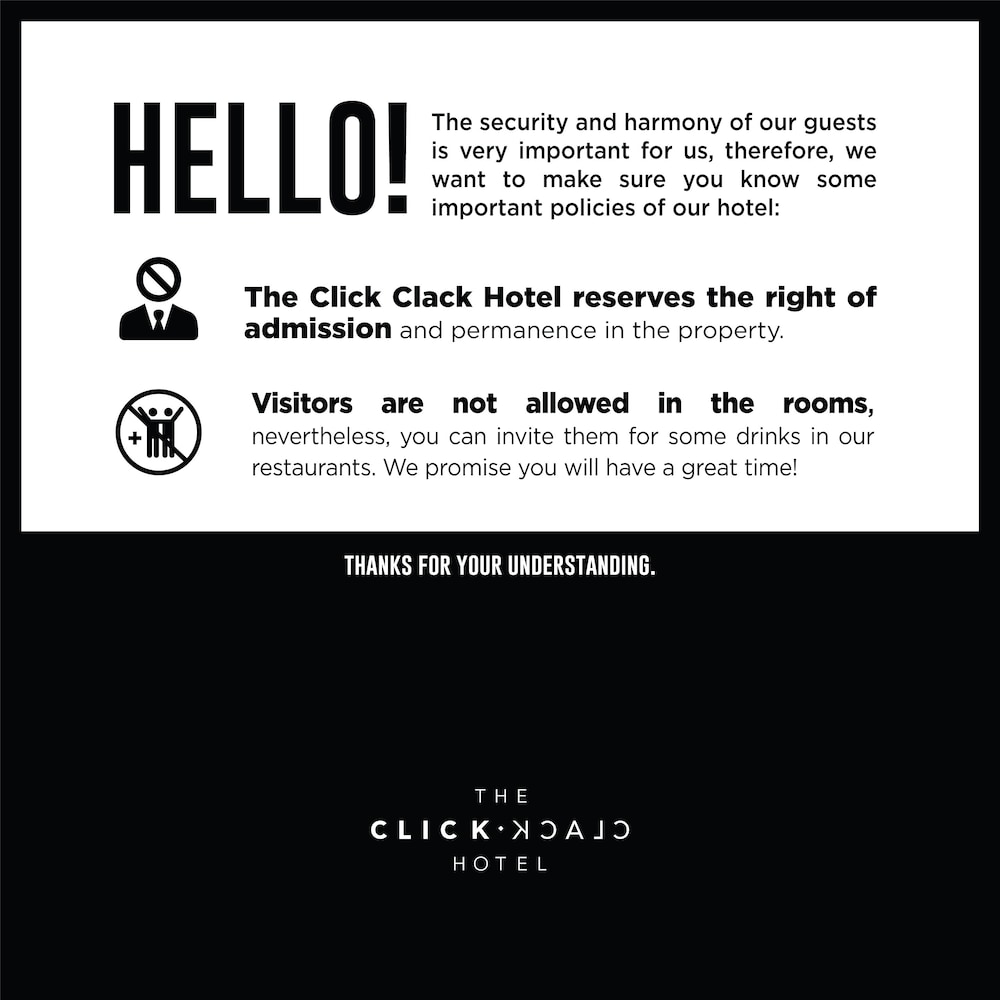 Property Amenity, The Click Clack Hotel Medellin