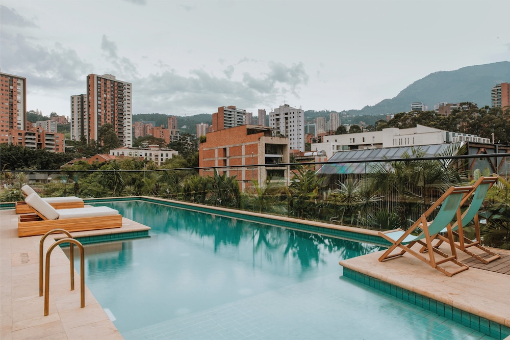 Outdoor Pool, The Click Clack Hotel Medellin