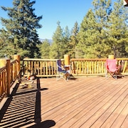 Beautiful Amazing Views Newly Built Home Quiet Large Wraparound Deck