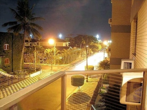 One Block From the Cove Beach in Guarujá - 2 Suites