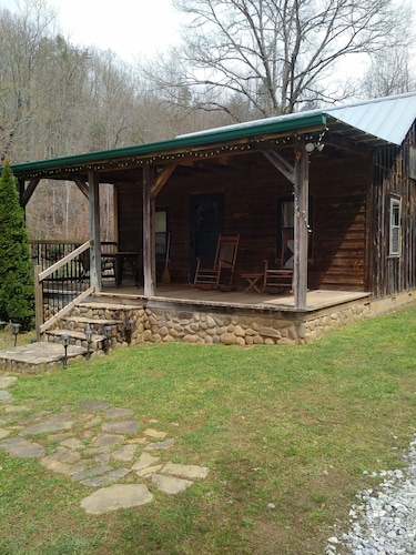 Authentic Mountain Cabin On Persimmon Creek Tallulah River
