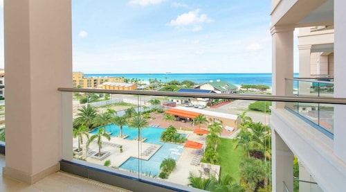 NEW LUX TWO Bedroom Condo AT Levent Beach Resort IN Award-winning Eagle Beach