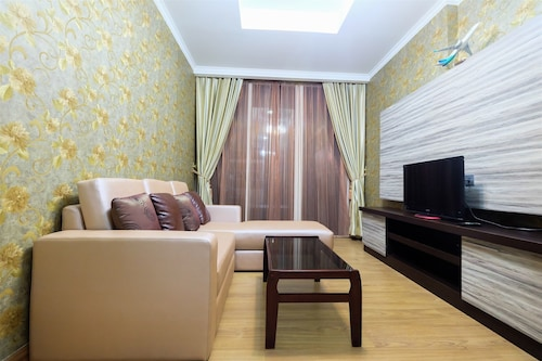 Spacious 2BR Ancol Mansion Apartment Sea View