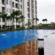 Modern Minimalist 1BR Saveria Apartment near AEON Mall & ICE BSD