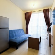 Homey 1BR Saveria Apartment near AEON Mall & ICE BSD