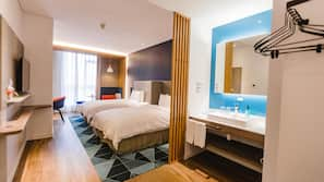 In-room safe, soundproofing, WiFi, wheelchair access