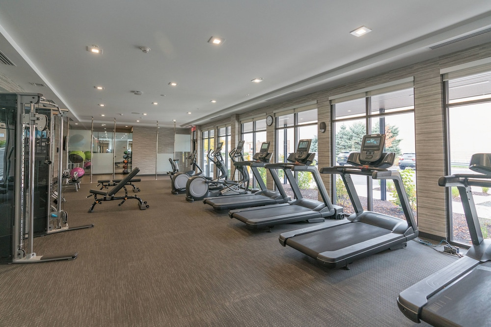 Gym, Courtyard by Marriott West Springfield
